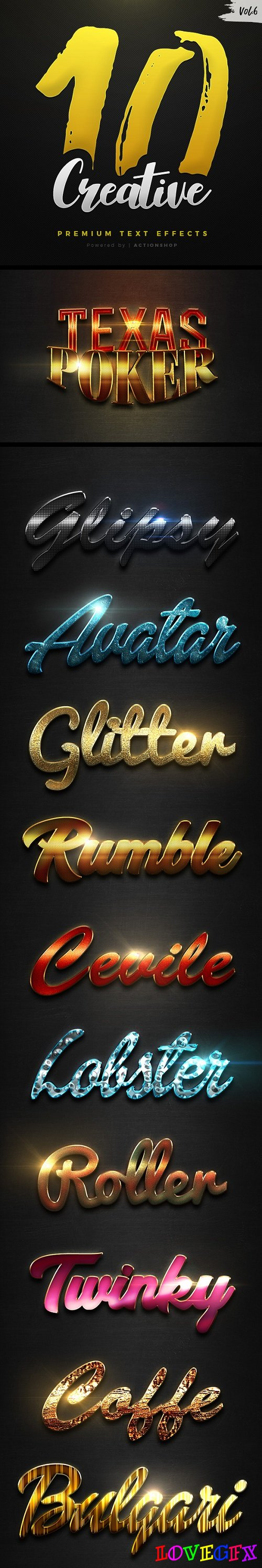 10 Creative Text Effects Vol.6 - 21038220