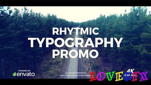 Typography Promo 20495016 - Project for After Effects (Videohive)