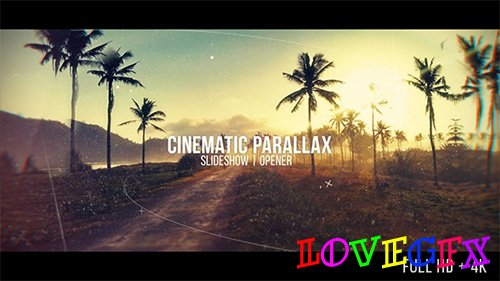 Cinematic Parallax Slideshow 20481472 - Project for After Effects (Videohive)