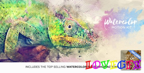 Watercolor Motion Kit 17286607 - After Effects Scripts (Videohive)