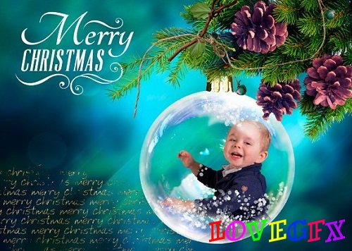 Christmas Snow Globes photo overlays 2067350