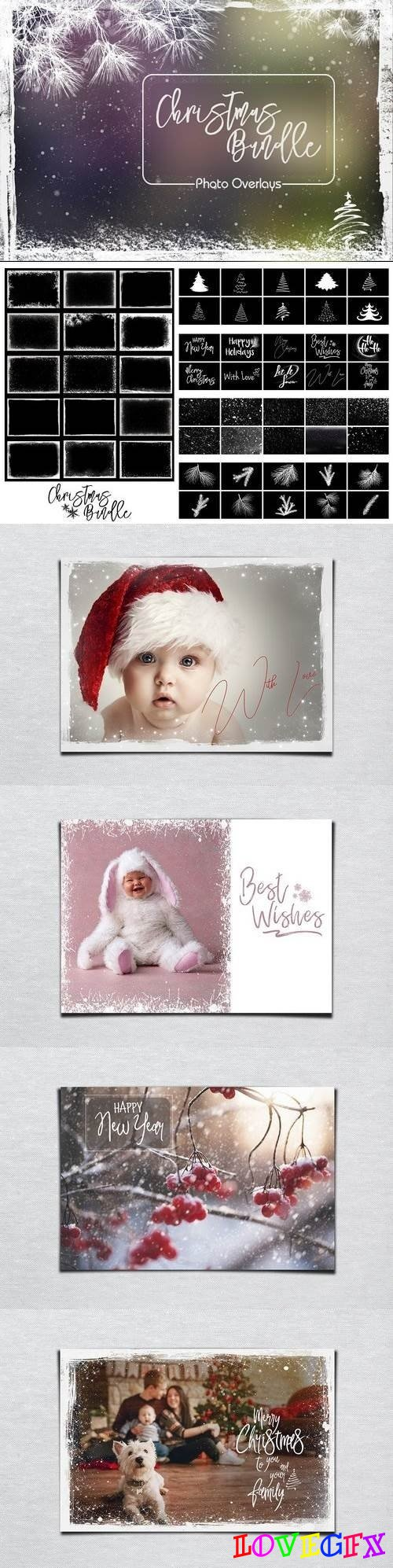 Christmas Bundle Photo Overlays - 2029320