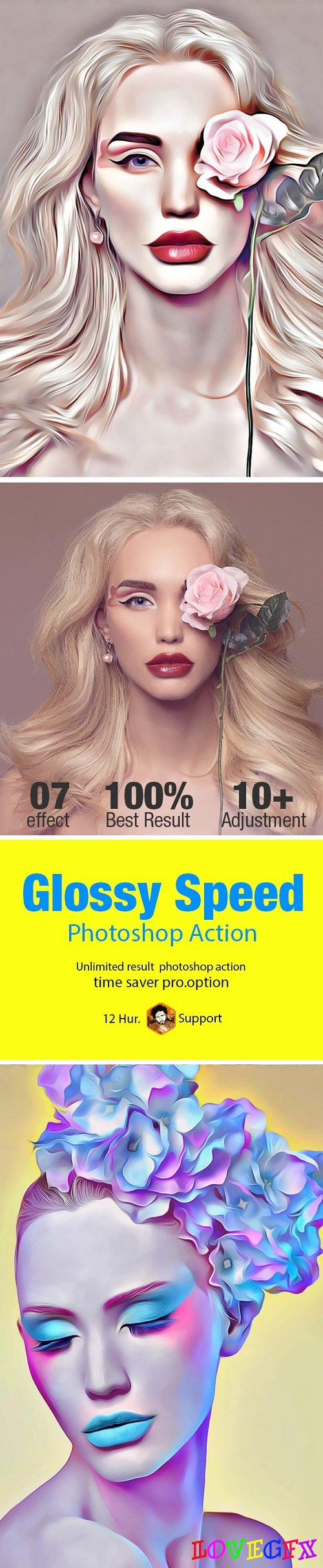 Glossy Speed Art Action 21189938