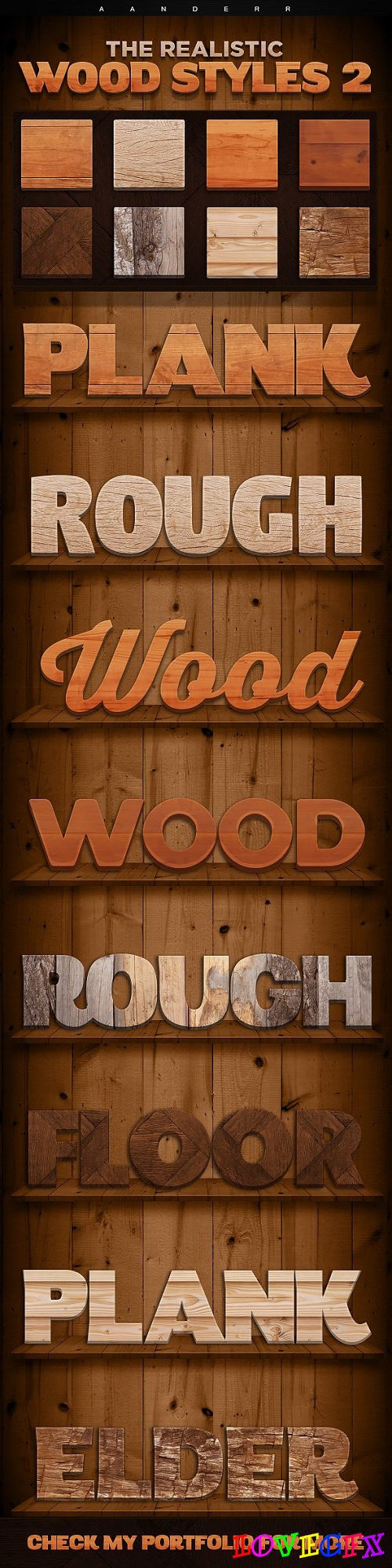 The Realistic Wood Styles 2 - 18006000