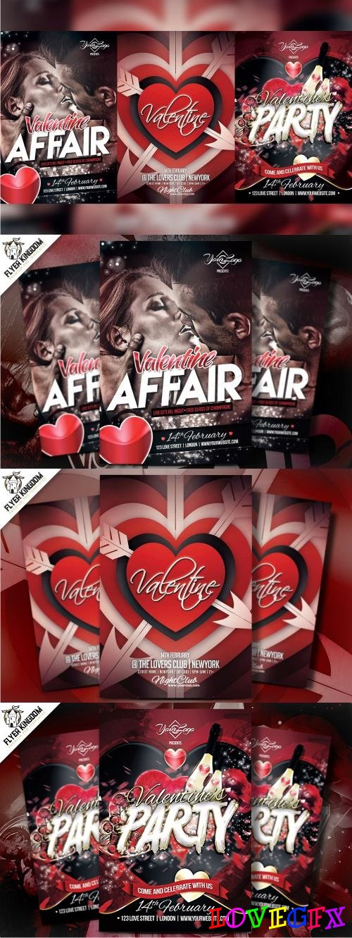 Valentine's Flyer Bundle - 2261252