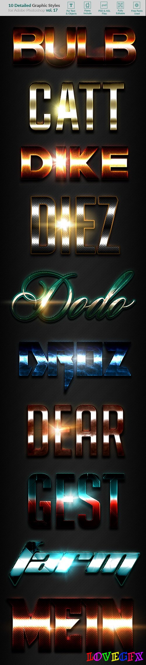 10 Text Effects Vol. 17 21062030