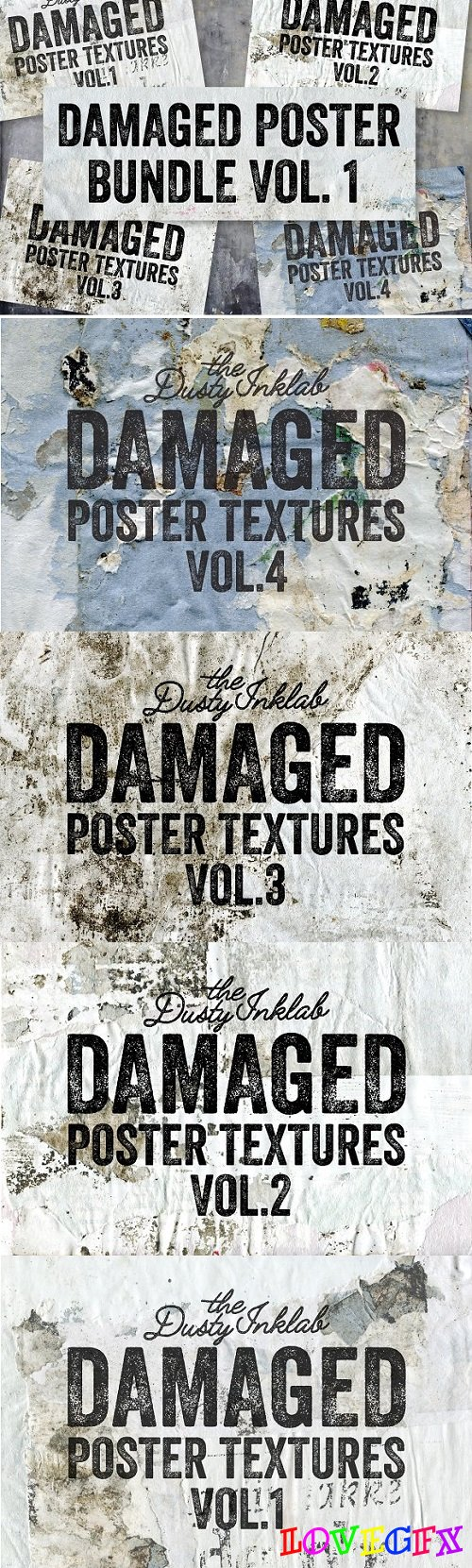 Damaged Poster Bundle Vol. 1 2228760