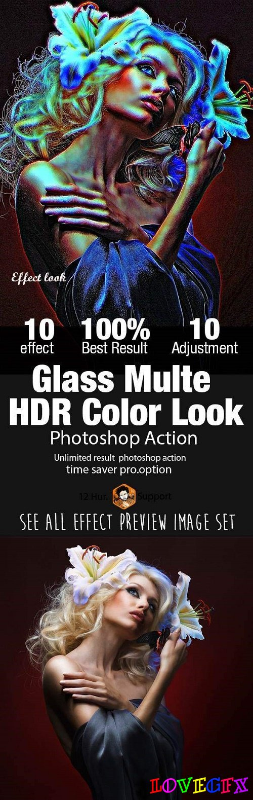 Glass Multi HDR Color Look 21560434