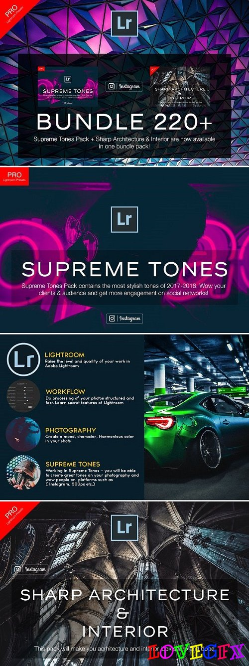220+ Bundle Lightroom Presets 2167139