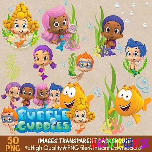 BUBBLE GUPPIES clipart