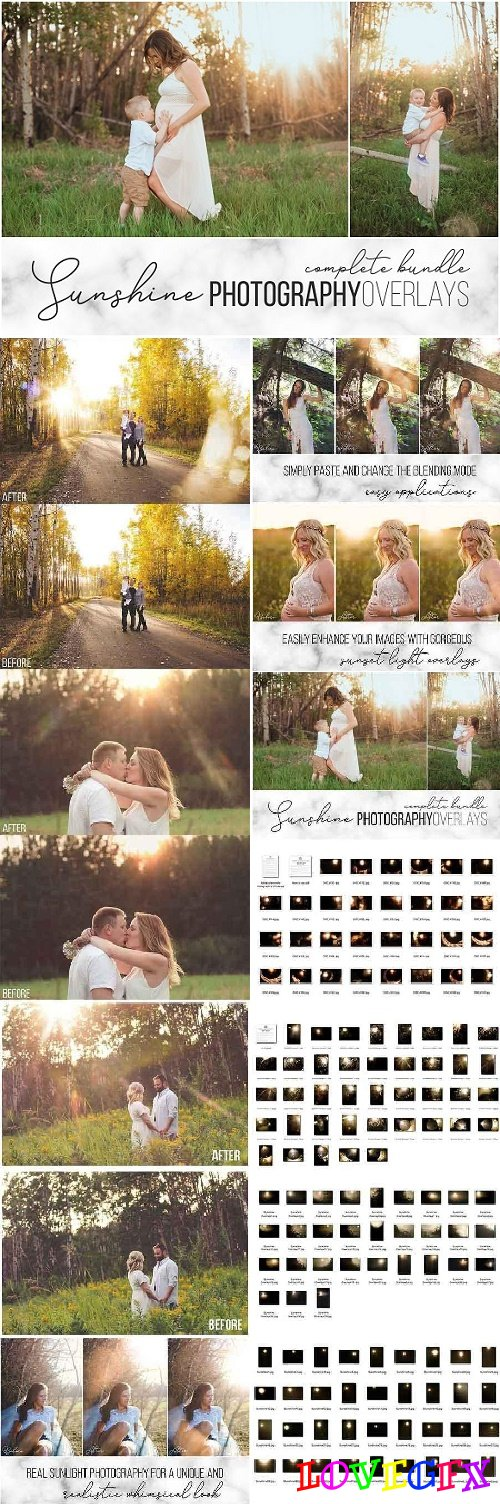 Sunshine Overlays Complete Bundle 2543088