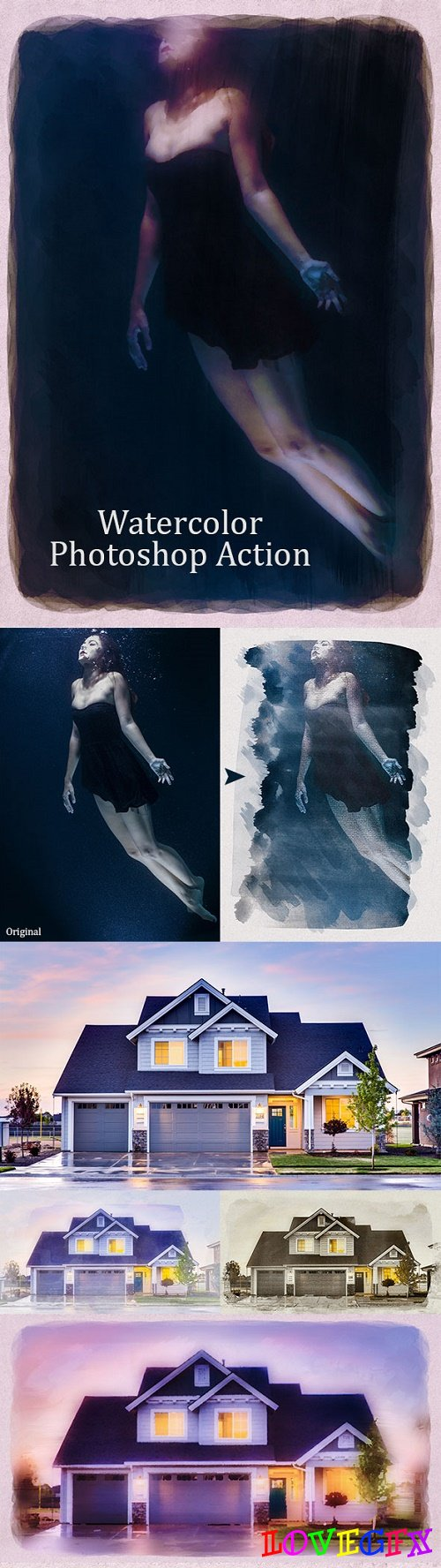 Real Watercolor Photoshop Action 2 22051485