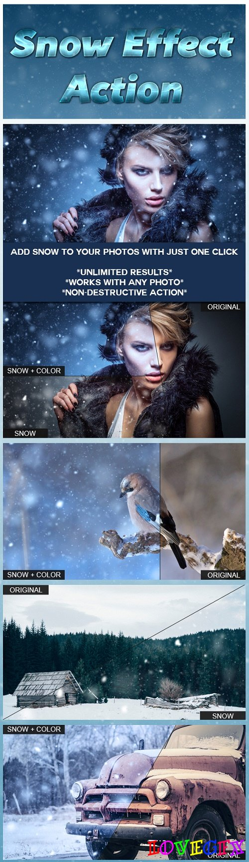 Snow Effect Action 14340811