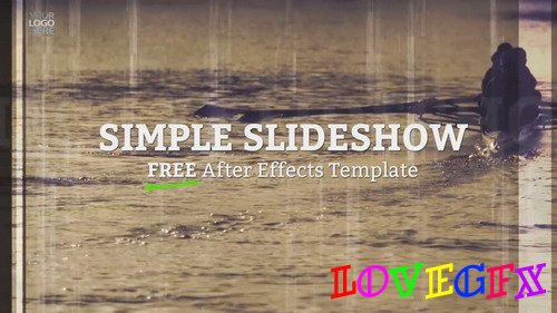 After Effects Templates - Simple Slideshow