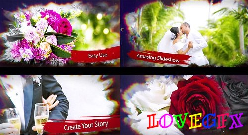 Wedding Watercolor 98841 - After Effects Templates
