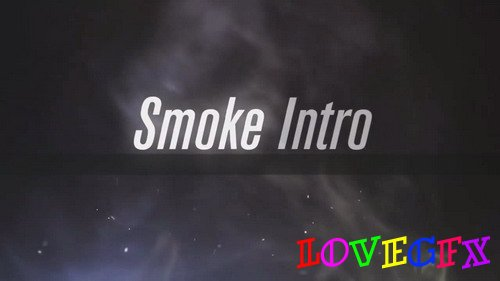 Smoke Intro - After Effects template