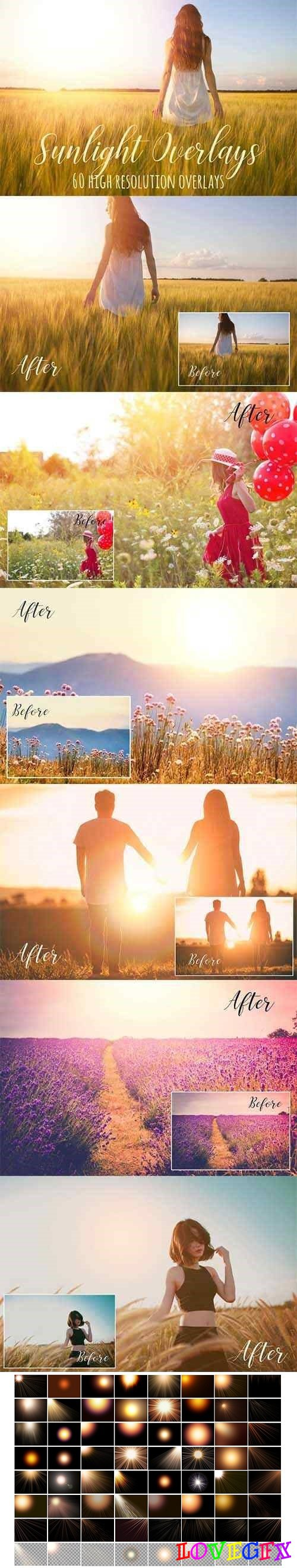 Sunlight photoshop overlays - 2705177