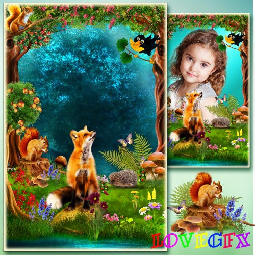 Frame for Photoshop - a fairy Tale we need