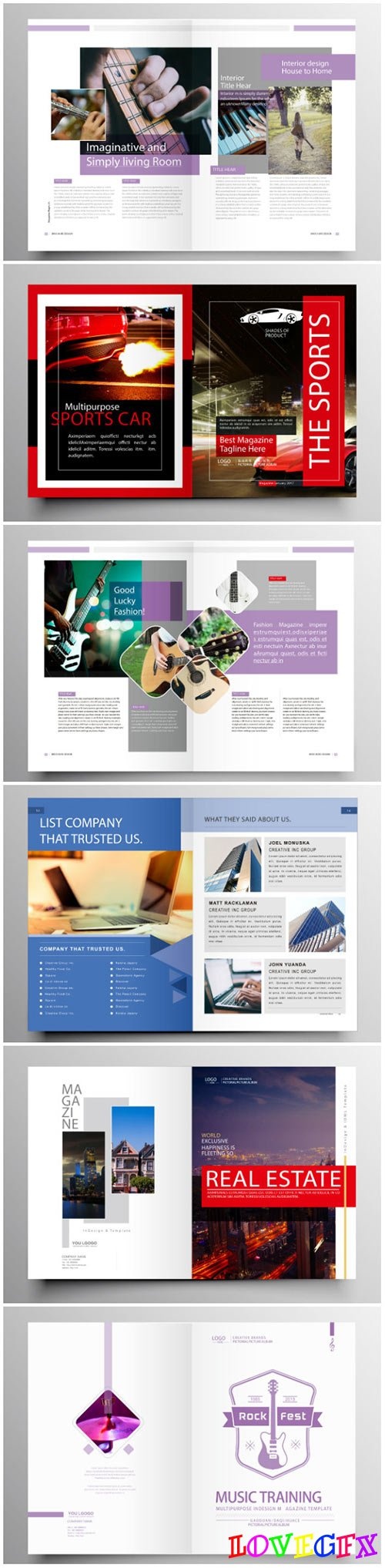 Brochure template vector layout design, corporate business annual report, magazine, flyer mockup # 197