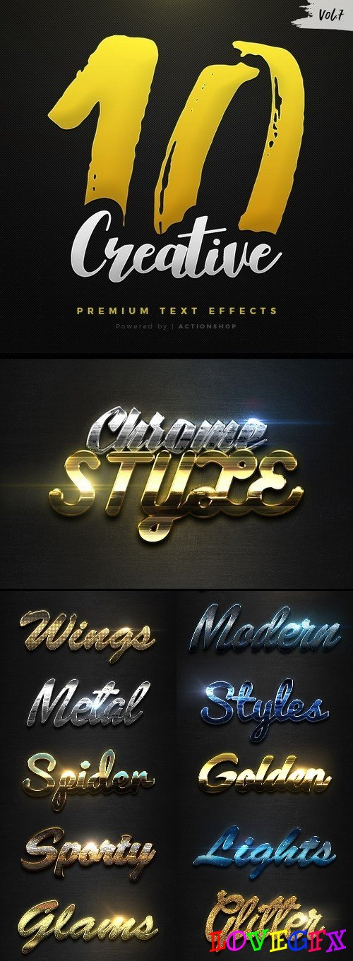 10 Creative Text Effects Vol.7 - 21096707