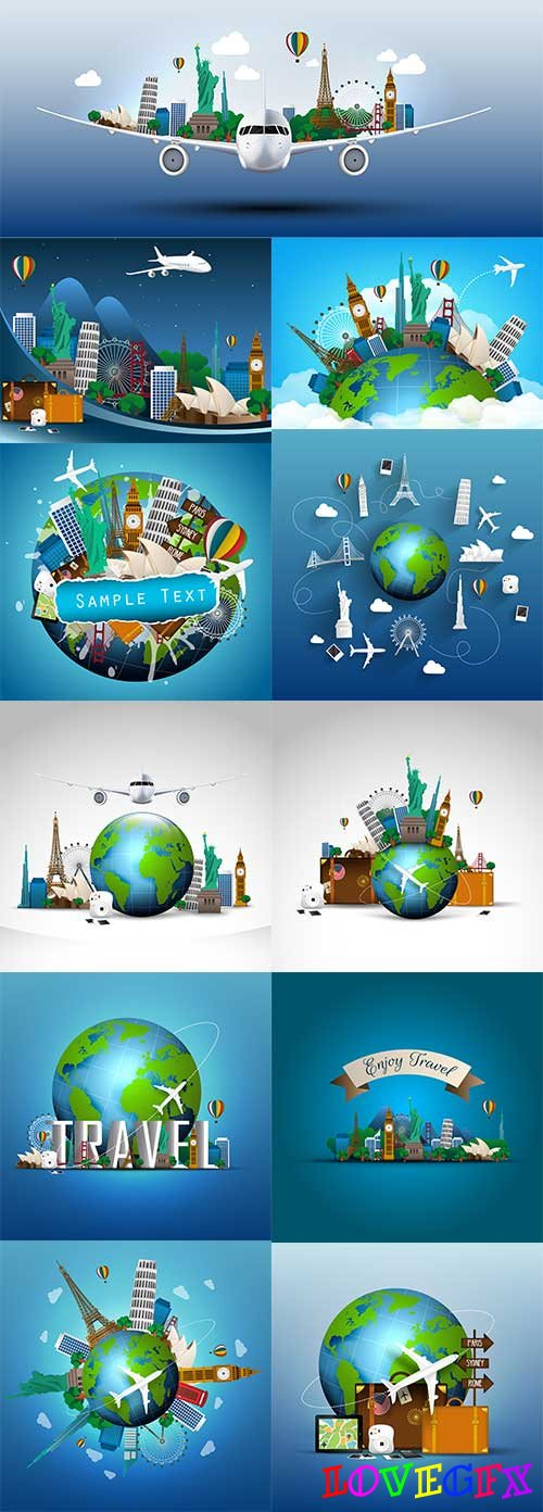 Travel - Vector Graphics