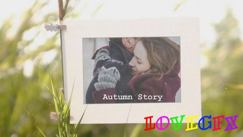 Project for Proshow Producer - Autumn Story