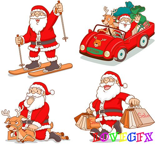 Santa Claus - Vector Graphics
