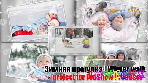 Winter walk - Project for ProShow Producer