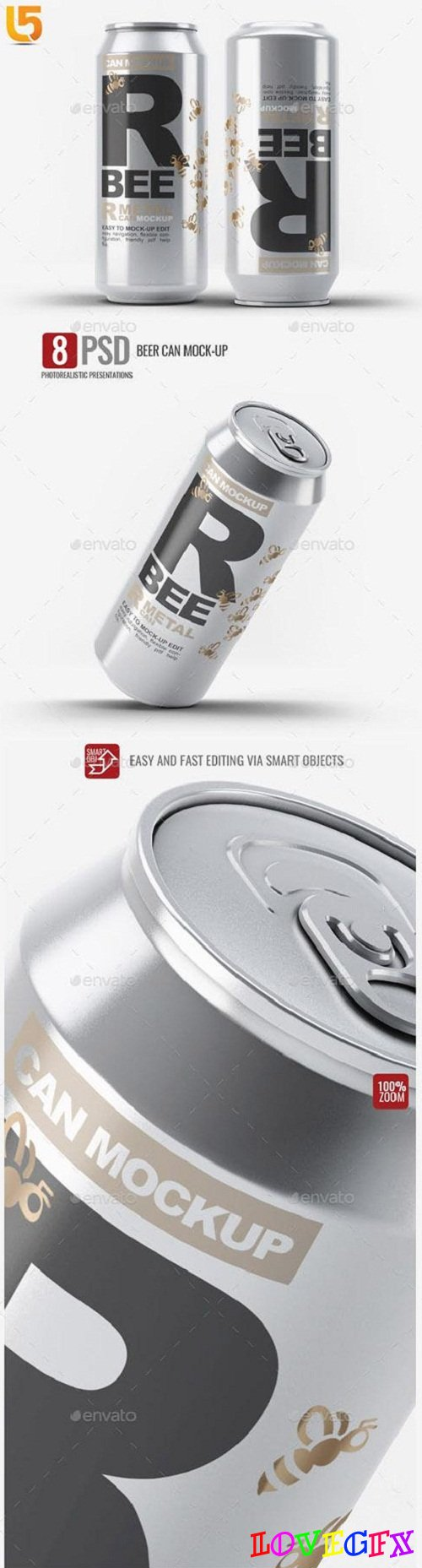 Beer Can Mock-Up - 23224554