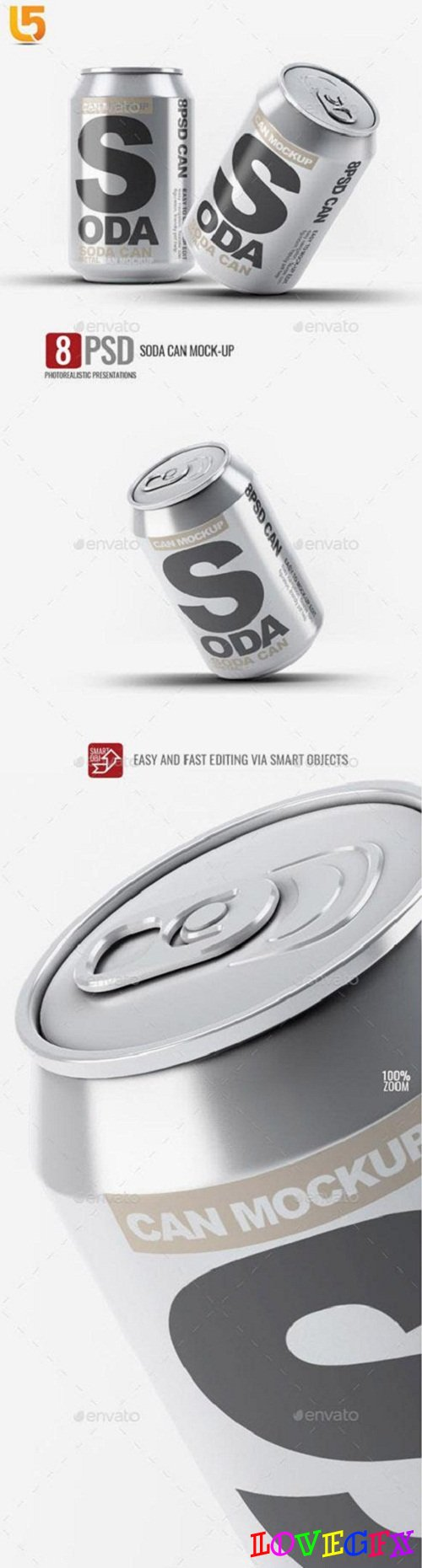 Soda Can Mock-Up - 23224895