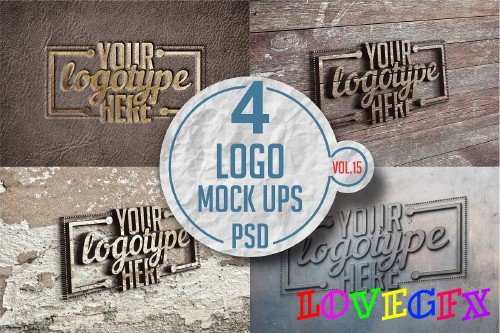 Logo Mock-up Pack Vol.15 - 3340216