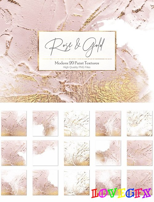 Rose Gold Paint Backgrounds - 2796943