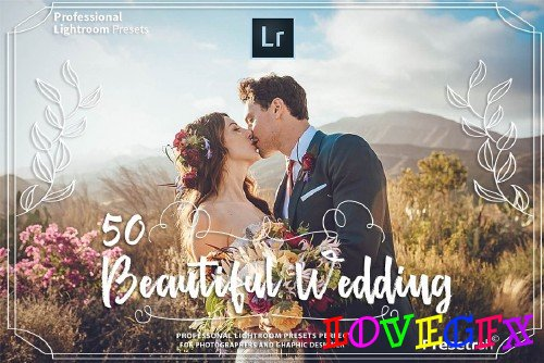 50 Pro Wedding Presets Collection - 2395838