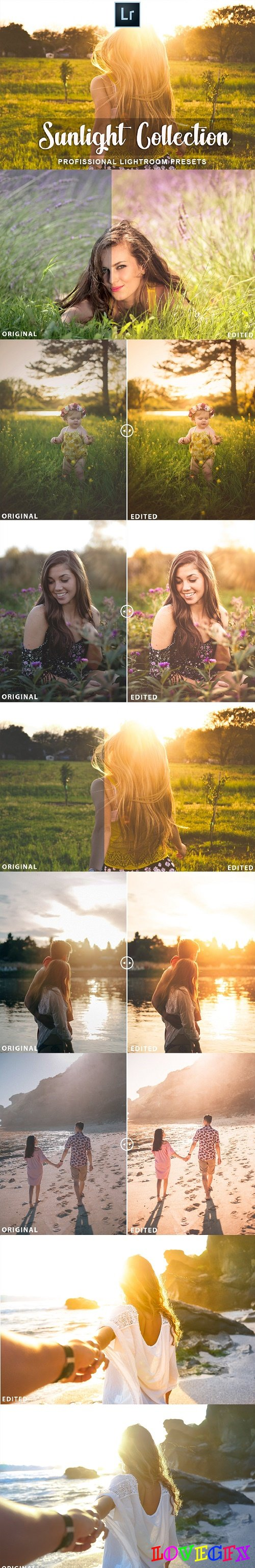 Sunlight Lightroom Presets - 3566452