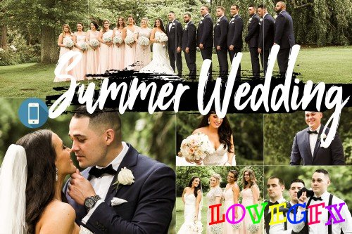 Neo Summer Wedding Theme mobile lightroom presets engagement - 267829