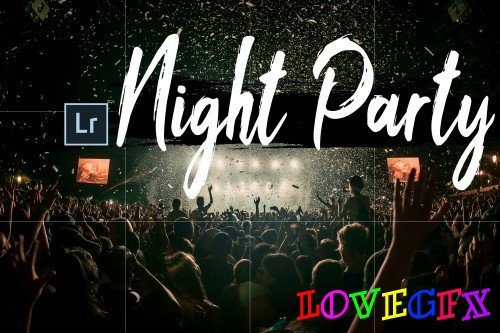 Neo Night Party Theme Desktop Lightroom Presets - 265964