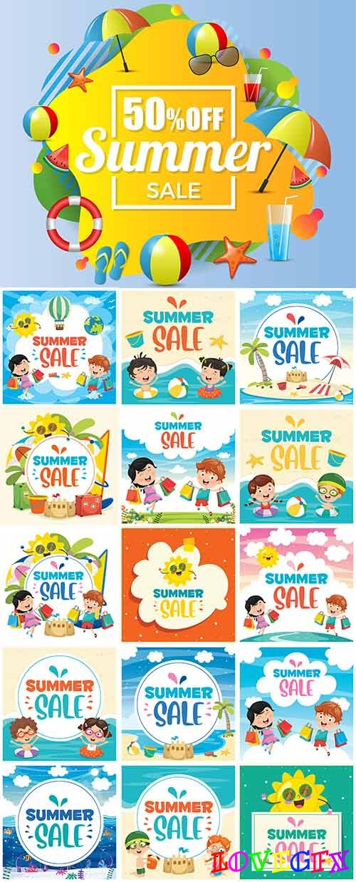Hello summer - 15 - Vector Graphics