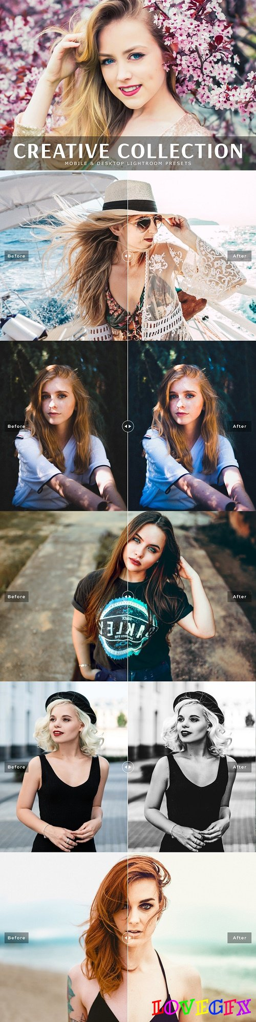 Creative Collection Lightroom Preset - 3812778