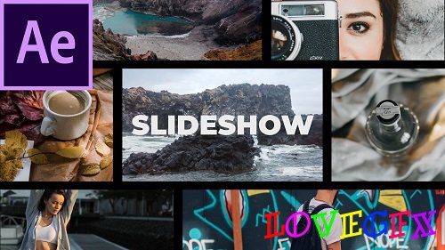 Media Opener Slideshow - After Effects Templates