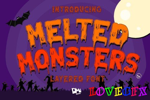 Melted Monster - Halloween Pack - 4073387