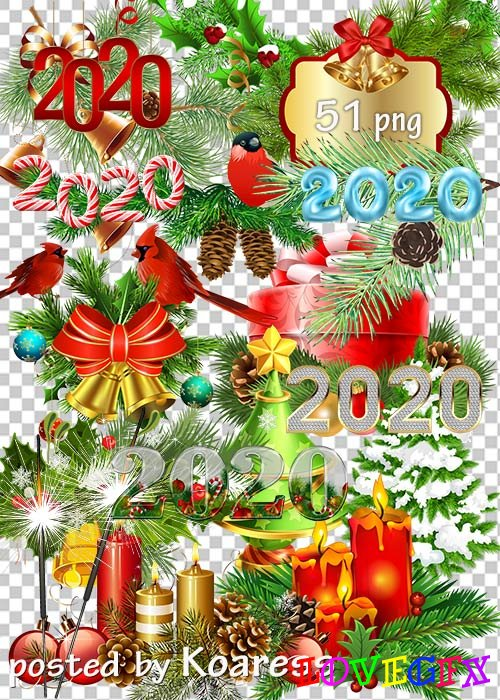 Clipart - New Year decoration