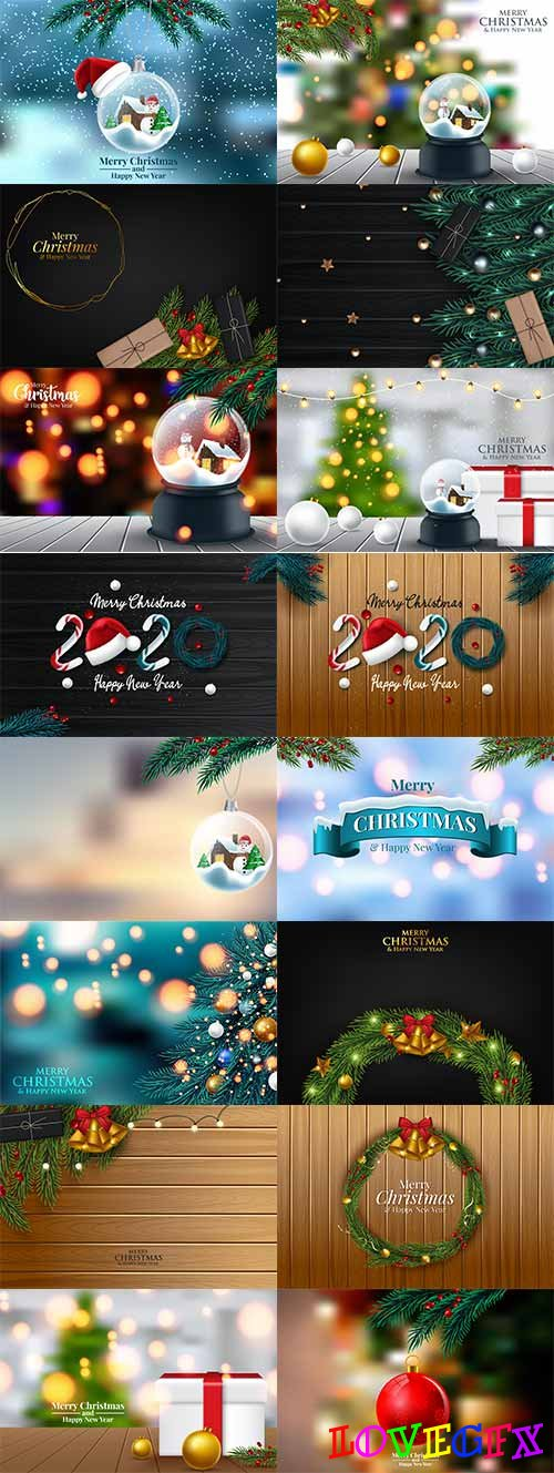 Christmas pictures 2 - Vector Graphics