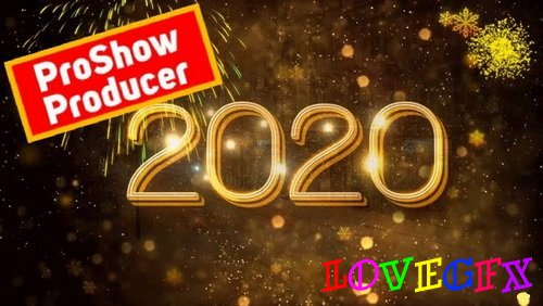 Project for Proshow Producer - New Year Countdown 2020