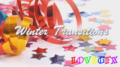 Project for Proshow Producer - Winter Transitions BD