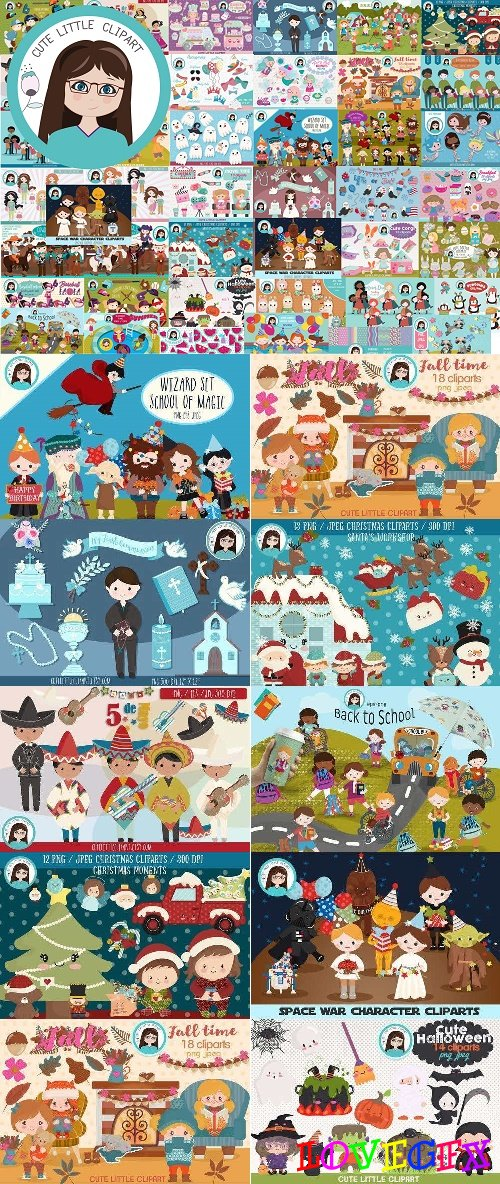 Big Bundle Clipart Volume 2 - 4396150