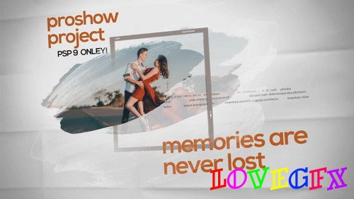 Project for Proshow Producer - Memories are Never Lost