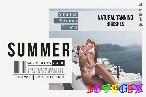 Summer Tanning Lightroom Collection 5115212