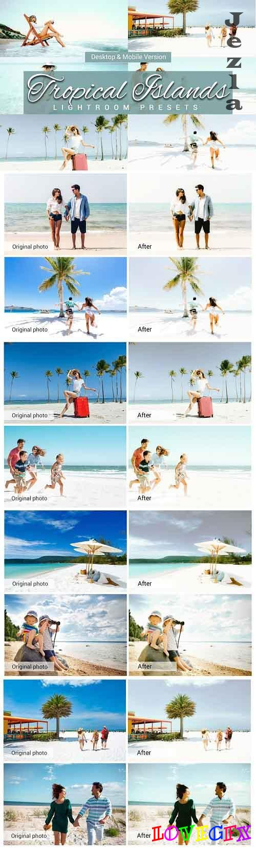 Tropical Islands Lightroom Presets 5157498