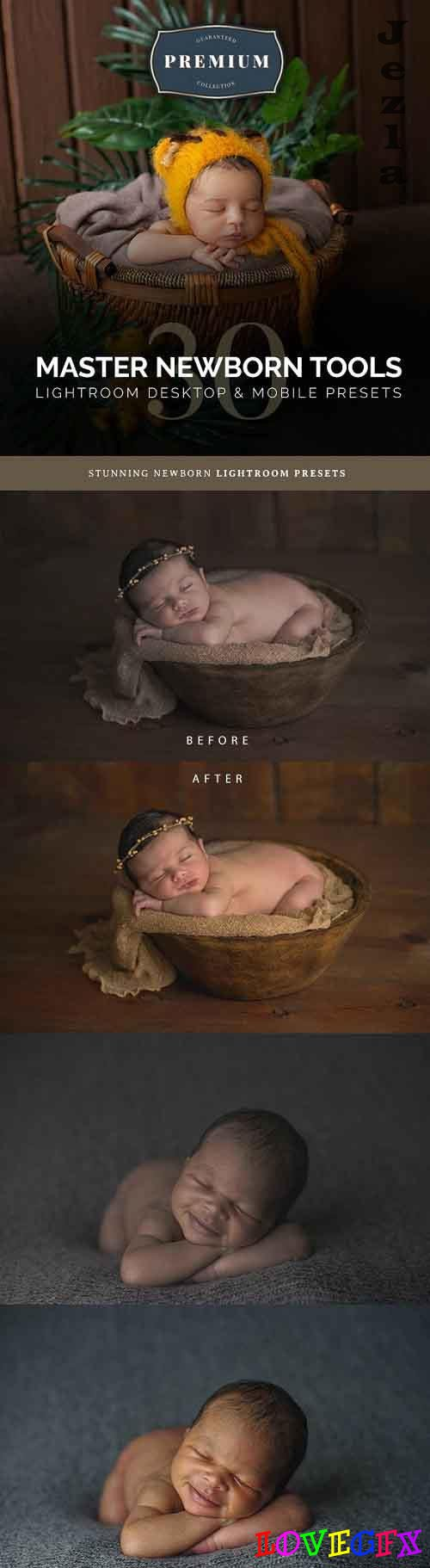 Master Newborn Lightroom Desktop & Mobile Presets 27665516