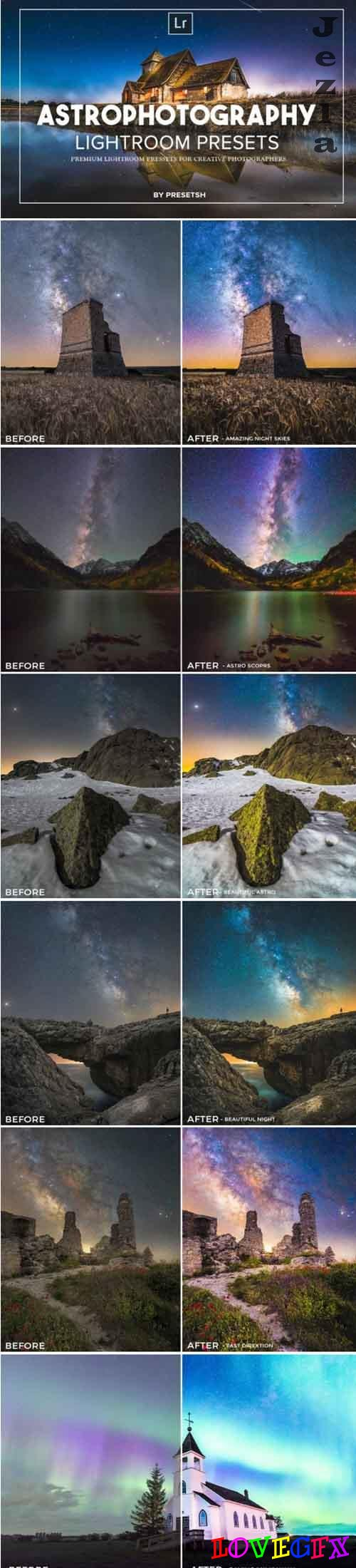 Astro Photography Lightroom Presets 4843397